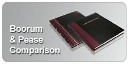 Boorum Pease lab notebooks
